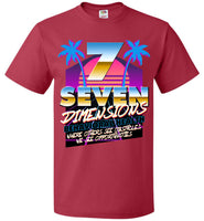 Seven Dimensions - Courtney, New Retro - FOL Classic Unisex T-Shirt