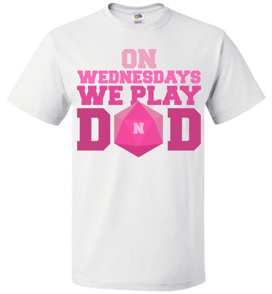 On Wednesdays We Play DnD - Fruit of the Loom Unisex