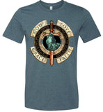God Love Grace Faith - Canvas Unisex T-Shirt