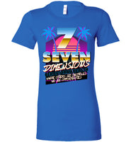 Seven Dimensions - Emily, New Retro - Bella Ladies Favorite Tee