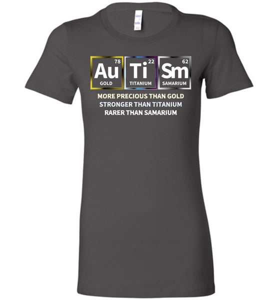 Precious + Strong + Rare = Autism - Ladies Favorite Tee