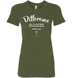EIFC - Difference Maker - Bella Ladies Favorite Tee