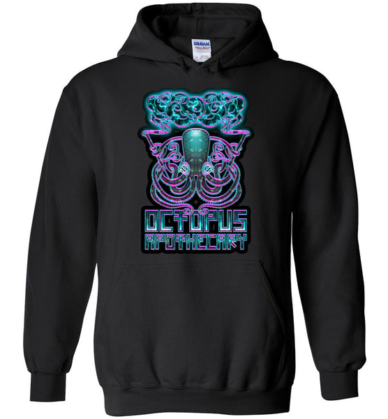 Octopus Apothecary - Neon Hoodie