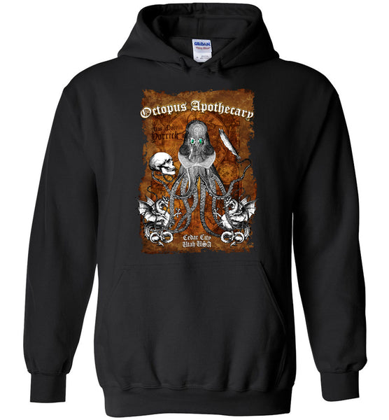Octopus Apothecary - Old Time Shakespeare - Gildan Heavy Blend Hoodie