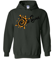 Old Soul Movement: Sunburst - Gildan Heavy Blend Hoodie