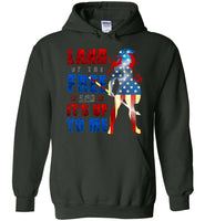 Land of the Free - Gildan Heavy Blend Hoodie