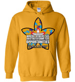 Seven Dimensions: Essential Flower - Gildan Heavy Blend Hoodie
