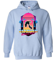 Retro Bearded Behaviorist - Gildan Heavy Blend Hoodie