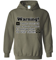 Titles on Both Ends - Heavy Blend Hoodie