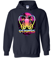 Octopus Apothecary - New Retro Wave - Gildan Heavy Blend Hoodie