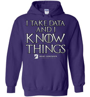 I Take Data & I Know Things - Gildan Heavy Blend Hoodie