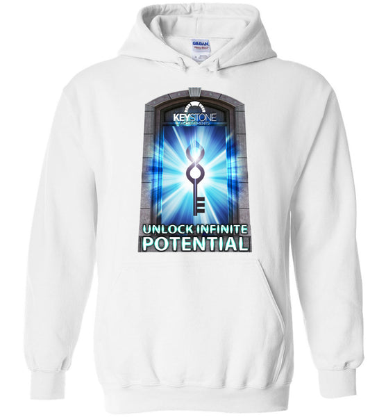 Keystone Achievements: Unlock Infinite Potential: Gildan Heavy Blend Hoodie