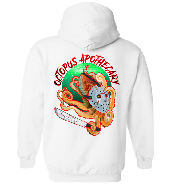 Octopus Apothecary: Murder on 13th Street: Gildan Heavy Blend Hoodie