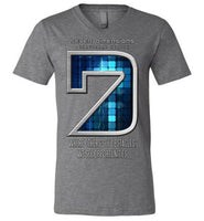 Seven Dimensions: Technomancer - Canvas Unisex V-Neck T-Shirt