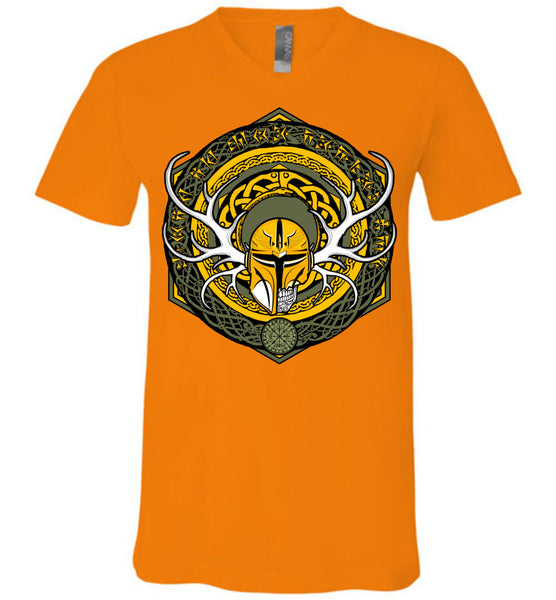 Sigil - Modern Viking - Canvas Unisex V-Neck T-Shirt
