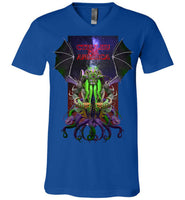 Warlock: CTHULHU FOR AMERICA - Canvas Unisex V-Neck T-Shirt