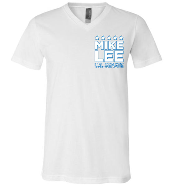Mike Lee - Separation of Powers - Canvas Unisex V-Neck T-Shirt
