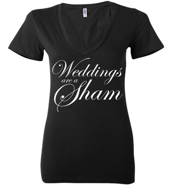 Salvesen: Weddings are a Sham: Bella Ladies Deep V-Neck