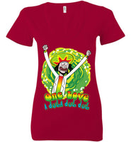 One Love A Duba Dub Dub! - Ladies Deep V-Neck
