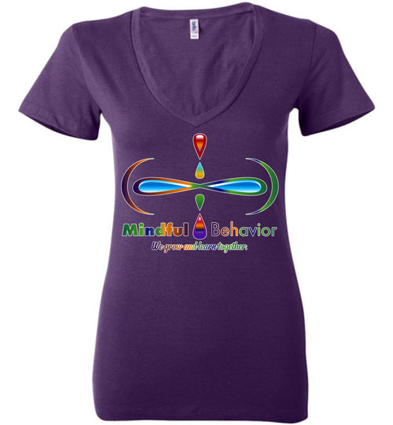 Mindful Behavior - Deep V-Neck