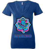 Namastayinbed - Ladies Deep V-Neck
