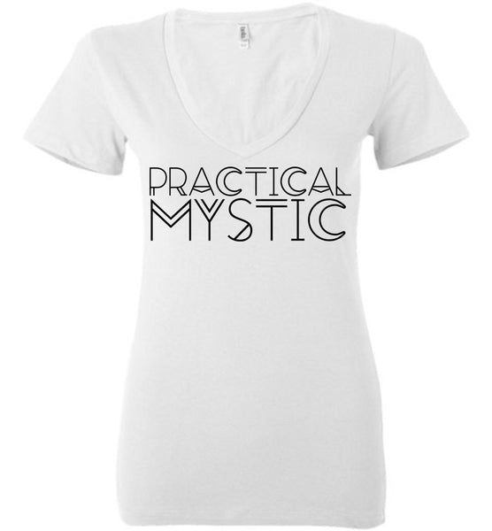 Salvesen: Practical Mystic: Bella Ladies Deep V-Neck
