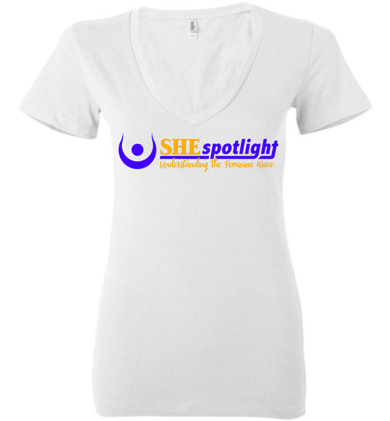 SHE Spotlight - Bella Ladies Deep V-Neck