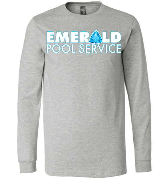 Emerald Pool Service - Canvas Long Sleeve T-Shirt