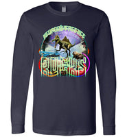 Neurodivergence Rocks Technically - Canvas Long Sleeve T-Shirt