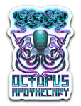"Octopus Apothecary - 3""x4"" Decals in Various Style"