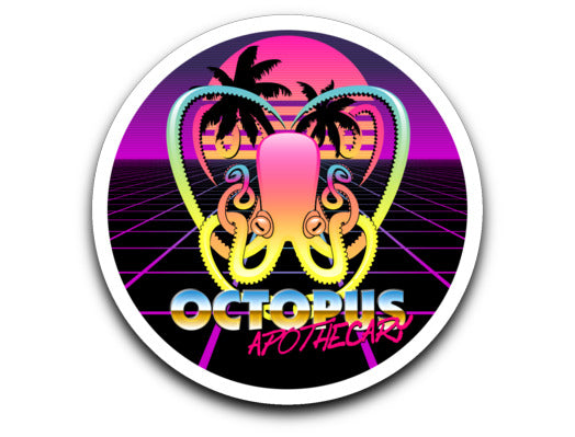 Octopus Apothecary - New Retro Wave Decal