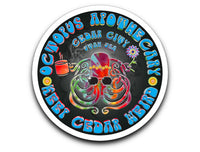 Octopus Apothecary Tie-Dye Stickers