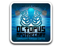 Octopus Apothecary - Coffee Sticker