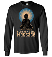 Body Mind Sol - Essential - Gildan Long Sleeve T-Shirt