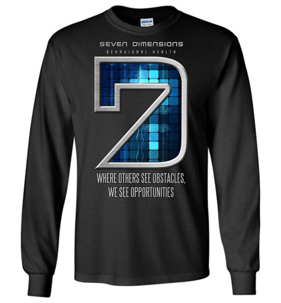 Seven Dimensions: Technomancer - Gildan Long Sleeve T-Shirt