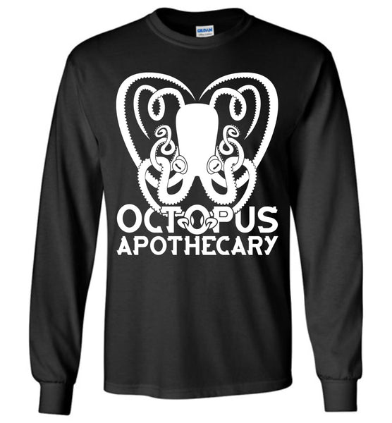 Octopus Apothecary - Essential 02 - Gildan Long Sleeve T-Shirt
