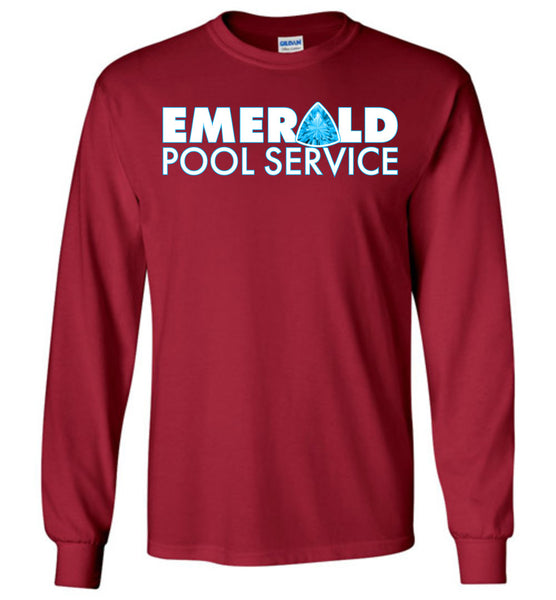 Emerald Pool Service - Gildan Long Sleeve T-Shirt