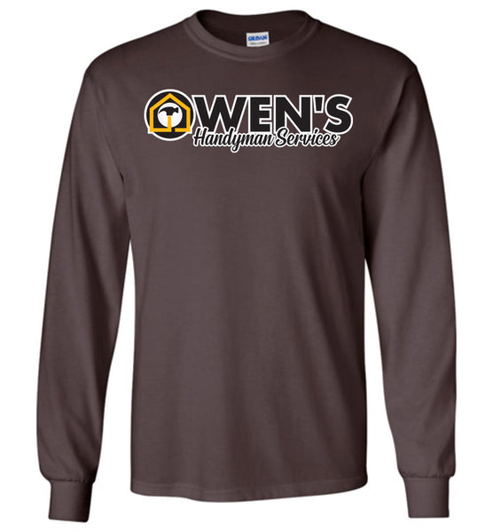Owen's Handyman Services - Gildan Long Sleeve T-Shirt
