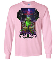 Warlock: CTHULHU FOR AMERICA - Gildan Long Sleeve T-Shirt