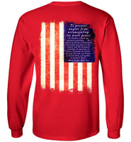 Mike Lee - Separation of Powers - Gildan Long Sleeve T-Shirt