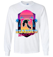 Retro Bearded Behaviorist - Gildan Long Sleeve T-Shirt