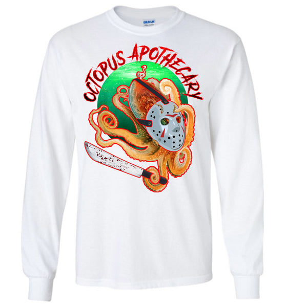 Octopus Apothecary: Murder on 13th Street: Gildan Long Sleeve T-Shirt