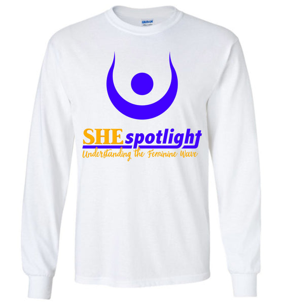 She Spotlight 2: Gildan Long Sleeve T-Shirt