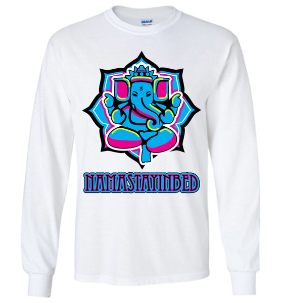 Namastayinbed - Long Sleeve T-Shirt