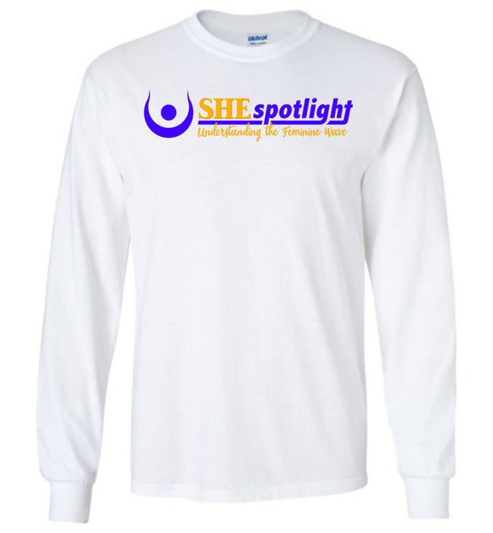 SHE Spotlight - Gildan Long Sleeve T-Shirt