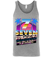 Seven Dimensions - Dorothy, New Retro - Canvas Unisex Tank