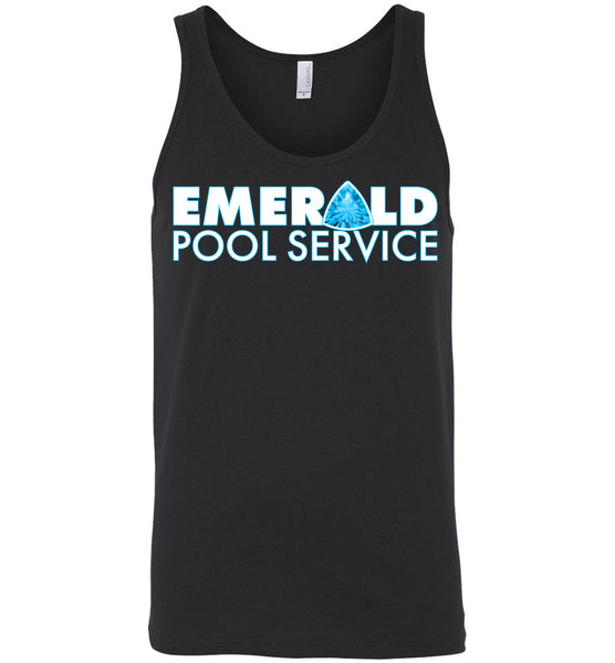 Emerald Pool Service - Canvas Unisex Tank