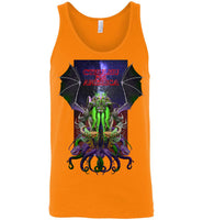 Warlock: CTHULHU FOR AMERICA - Canvas Unisex Tank