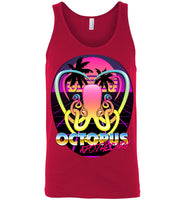 Octopus Apothecary - New Retro Wave - Canvas Unisex Tank