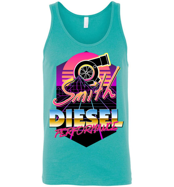Smith Diesel - New Retro Turbo - Canvas Unisex Tank